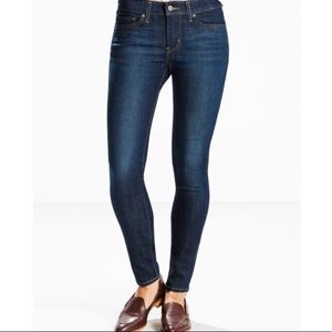 Levi's 711 Skinny Jeans Dark Wash Size 26